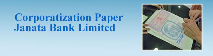 CORPORATIZATION PAPERS